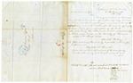 1852 January 16: Elizabeth McDowall, Baltimore, to the Auditor, Military bounty land claims
