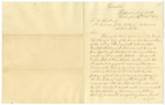 1853 October 19: W.L. Marcy, Washington, District of Columbia, to Governor of Arkansas, Circular pertaining to agreement between United States and France pertaining alien ownership of land