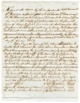 1853 June 20: Samuel J. Mason, et al., to the State of Arkansas, Security bond for Mason as Sheriff and Collector of Izard County