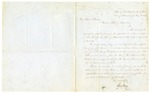 1854 February 21: John Berry, Williamsburg, New York, to Governor Elias N. Conway, Requesting appointment as Commissioner of Deeds for Arkansas in New York