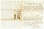 1854 October 2: A. George and John Robins, Phillips County, to Governor Elias N. Conway, Petition for pardon for William F. Tourtelott (pardon granted May 14, 1855)