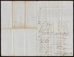 1856 August 25: William F. Lawrence, et al., Boston, to Governor Elias N. Conway, Recommendation of Otis Gray Randall as Commissioner of Deeds for Arkansas in Massachusetts