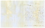 1857 September 18: Isaac King, Clarksville, Arkansas, to Governor Conway, Complaint about the actions of Parson Meers