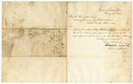 1857 May 29: Thomas A. Hendricks, Land Commissioner, to John R. Hampton, Acting Governor, Concerning sale of swamp lands