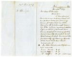 1857 December 21: H. Flanagin, Arkadelphia, Arkansas, to William R. Miller, Auditor, Concerning lands sold for taxes