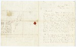 1857 November 22: Diogenes Wetmore, Jefferson City, Missouri, to Governor Elias N. Conway, Request for assistance in securing release from Missouri prison