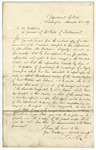 1857 November 20: Lewis Cass, Secretary of State, United States, to Governor of Arkansas, Transmitting copy of letter to Cass from Lord Napier, British Minister to United States concerning land surveys