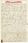 1857 February 2: Peter T. Crutchfield to the State of Arkansas, Deed of Conveyance for land in Pulaski County
