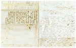 1858 March 21: Lieutenant N.B. Pearce, Philadelphia, Pennsylvania, to Governor Elias N. Conway, Request for appointment as Colonel of regiment of volunteer troops