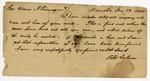 1864 January 13: B.F. Askew, Magnolia, Arkansas, to Governor Harris Flanagin, Report on search for Flanagin's mule