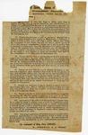 1864 June 9: Assistant Adjutant General W. Stedman for Brigadier General E. Greer, Head Quarters, Bureau of Conscription, Trans Mississippi Department, Marshall, Texas, Order to manufacturers