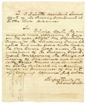 Undated [1865]: Elisha Baxter to B.F. Tuttle, Special Agent of the Treasury Department in Little Rock, Application to lease Clendenin Farm