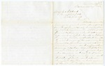 1866 August 1: Governor Isaac Murphy to Major General E.O.C. Ord, Commanding Department of Arkansas, Concerning the murders of James Kennedy, James I. Stanfield, John Kennedy and George Kennedy by a mob in Dallas County