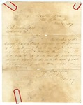 1867 December 30: J.R. Berry, Little Rock, to R.C. Martin, Sheriff of Arkansas County, Concerning Loyd Lockes, accused murderer