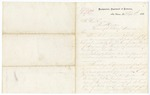 1868 September 8: Robert C. Buchanan, Headquarters, Department of Louisiana, New Orleans, to Governor Powell Clayton, Reply to request for distribution of troops