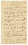 1868 December 27: John J. Gibbons, Lewisburg, Arkansas, to Governor Powell Clayton, Report of disturbances in Conway County