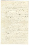 1868 December 27: John J. Gibbons, Lewisburg, Arkansas, to Governor Powell Clayton, List of outrages occurring in Conway County