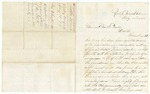 1868 August 15: Brigadier General W. McWhorter, Rocky Comfort, Arkansas, to Governor Powell Clayton, Concerning conditions in Little River County