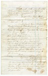 1868 November 30-December 1: Report of Special Court, Evidence in court martial of Private Armstead Major of the First Arkansas Cavalry
