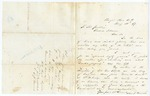 1869 January 20: Charles F. Morris, Pacific Place, Arkansas, to President Andrew Johnson, Requesting protection for his family during reconstruction (two items)