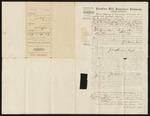 1870 January 29: Carolina Life Insurance Company, Memphis, Tennessee, Policy issued to John Madison Coyle, Prairie County, Arkansas