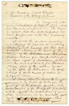1871 January 8: C.V. Meador, Special Agent, Indian Territory, to Governor Powell Clayton, Report on Choctaw and Chickasaw land claims in Arkansas
