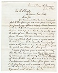 1871 July 11: William M. Davidson, Evening Shade, to Governor O.A. Hadley, Concerning political situation in Sharp County