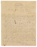 1871 May 30: Will M. Davidson, Evening Shade, Arkansas, to Keyes Danforth, Adjutant General, Concerning claim of George H. Bucks against the state