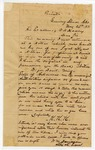1871 May 23: Will M. Davidson, Evening Shade, Arkansas, to Governor O.A. Hadley, Concerning Ku Klux Klan activities in area