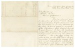 1873 October 6: Powell Clayton, Little Rock, to Governor Elisha Baxter, Concerning special election for vacancies in state legislature