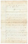 Undated [1873]: Governor Baxter to the General Assembly, Message Urging passage of certain laws before adjournment