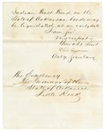 1873 January 6: B.R. Cowen, Acting Secretary, Department of Interior, to Governor of Arkansas, Concerning Indian Trust Fund and Arkansas bonds (fragment)