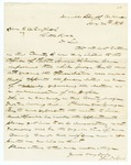 1873 July 24: William T. Jones, DeValls Bluff, to Judge E.H. English, Recommending township officers