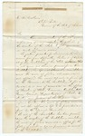 1873 January 22: T.D.W. Yonley, Attorney General, Little Rock, to Governor Elisha Baxter, Opinion concerning power of Chief Executive to fill vacancies in county offices