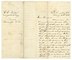 1874 May 16: J.W. Fuller, Washington, District of Columbia, to Governor Elisha Baxter, Concerning resolution of Brooks-Baxter war