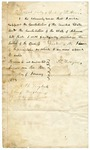 1877 January 8: D.L. Kilgore to E.H. English, Chief Justice, Official oath of Speaker of the House of Representatives