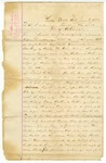 1882 June 3: George W. Chilton, et al., Little Rock, to Governor Thomas J. Churchill, Urging for a new trial for Henry Butler (also includes petition from citizens of Smith County, Texas, urging for new trial)