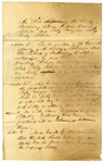 1823 October 25: An Act Dissolving the Bonds of Matrimony between William Hawkins Johnson and Betsy Morgan