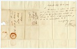 1836 September 12: V. Ellis, Washington City, to Auditor of Arkansas, Little Rock, Inquiry about taxes owed on tract of land