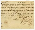 1839 December 2: Wood Tucker, et al., to the Bank of Arkansas, Promissory note