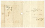 1842 March 10: Charles E. McChesney, Secretary of State, Trenton, New Jersey, to the Governor of Arkansas, Acknowledging receipt of