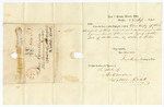 1842 September 23: James Harlan, Secretary of State, Frankfort, Kentucky, to the Governor of Arkansas, Acknowledging receipt of