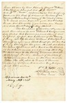 1845 May 19: William R. Hallford, et al., to the State of Arkansas, Security bond for Hallford as Sheriff of Perry County