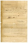 1846 January 15: Affidavit of publication in