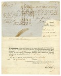 1847 June 18: William Christy, New Orleans, for W.B. Cahn, Public Instrument of Protest for non-payment of note