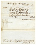 1847 December 17: James M. Kisick, Fayetteville, to the State of Arkansas, Giving power of attorney to Alexander Boileau