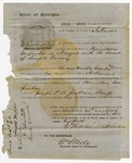 1856 April 24: Herschel V. Johnson, Governor of Georgia, to the Governor, Extradition request for Hamilton Carpenter to the state of Georgia (includes supporting document)