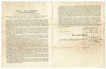 1856 July 12: Ralph Metcalf, Governor of New Hampshire, et al., to Governor of Arkansas, Resolutions of the Legislature of New Hampshire in relation to the late acts of violence and bloodshed by the Slave Power in the Territory of Kansas and the National Capital