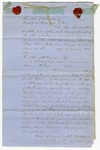 1856 November 21: Samuel K. Jones, Hempstead County, Petition to appeal judgment of Sixth Judicial Circuit Court to Arkansas Supreme Court (Includes petition to Governor Elias N. Conway signed by Jones and others)