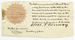 1856 December 10: Elias N. Conway, Governor of Arkansas, to unknown (fragment)